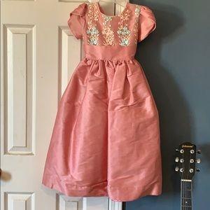 Other - Pink Floral Formal wear dress